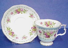 Lovely Royal Albert China Cup & Saucer - Minuet