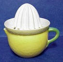 Pretty Vintage hand Painted LEMON SQUEEZER