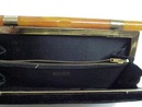Deco  Velvet/Bakelite Handle PURSE