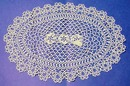 Large Tatted Lace Doily Tatting