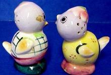 Adorable Mr.&Mrs. BIRD Salt&Pepper