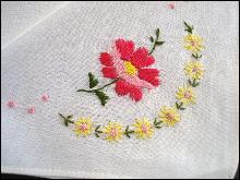 Handkerchief Iriah Handloom Embroidery