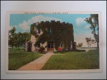 Real Photo Postcard Old Round Tower Fort Snelling Minnesota