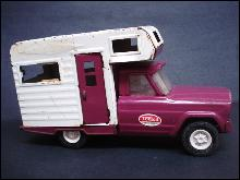 Tonka Toy Camper Truck Vintage
