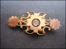 Special Original Victorian Bar Pin - Ornate