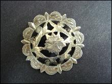 Spectacular Sterling Brooch by Marius Hammer