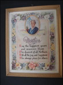 Picture MOTHER Poem and Portrait