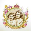 Princesses Elizabeth&Margaret Rose PLATE