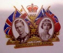 1937 Coronation PLATE