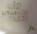 SHABBY CHIC Midwinter CHINTZ PLATE