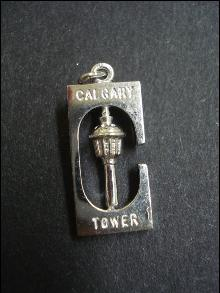 Bracelet Sterling CHARM Calgary Tower