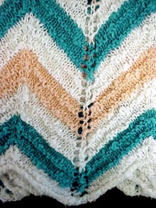 Granny Type Small Colorful Afghan