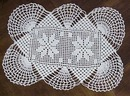 Lovely Crocheted lace Filet Lace Doily