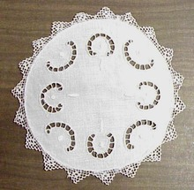 Detailed Cutwork & Lace Doily