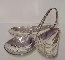 Figural Silver Plated Serving Dish
