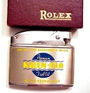 Rolex Chrome RONSON Lighter
