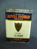 Spice Tin Pure Cayenne by Royal Shield