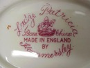 Hammersley China  Dish LADY PATRICIA Signed