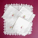 40's Lace & Embroidery NAPKINS #2