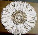 Chrocheted Lace ROUND DOILY
