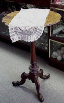 Crocheted White LACE RUNNER #2