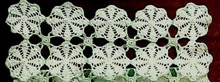 Crocheted LACE RUNNER #4
