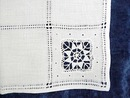 Linen Tablecloth Lace & Embroidery