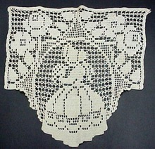 LACE Sofa Cover VICTORIAN LADY