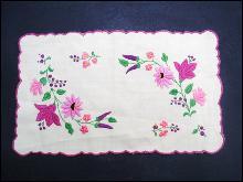 Hand Embroidered Centerpiece