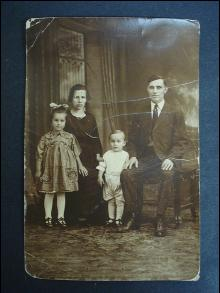 Antique Family Photo