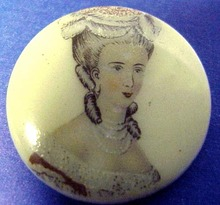 Vict. Miniature Portrait  BROOCH