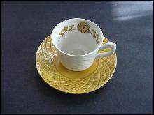 Vintage Demitasse Set Cup and Saucer