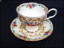 Paragon Teacup & Saucer MINUET