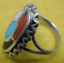 Lovely Silver Ladies  RING