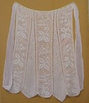 Antique FILET LACE APRON