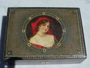 Victorian Glamour Girl Sewing Box