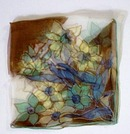 Beautiful Silk Colorful Hanky