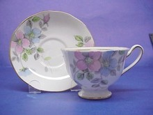 Salisbury Crown China Cup & Saucer