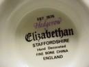 Elizabethan Staffordshire Cup & Saucer Hand