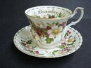 Royal Albert Cup & Saucer Christmas Rose