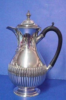 Quality Sheffield Silver Hot Water Jug