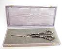 Gorgeous Art Nouveau Figural Grape Scissors