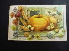 Antique Thanksgiving Postcard  by Raphael Tuck and Sons - Used