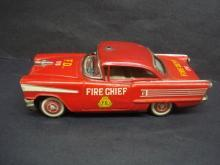 Vintage 1958 Oldsmobile Fire Chief Car