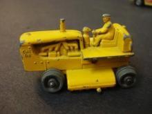 Lesney Toy Diecast Caterpillar Bulldozer - Tiny  Lesney Moko Toy - No 18