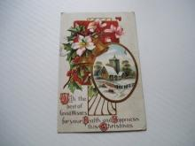 Antique Christmas Postcard
