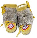 Native Beaded Childs Mukluks MUST SEE