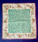 Chintz Like Printed Hanky