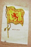 Lovely Antique Tobacco Cigarette Silk - Scotland
