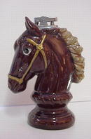 Lovely Figural Vintage Pottery Lighter